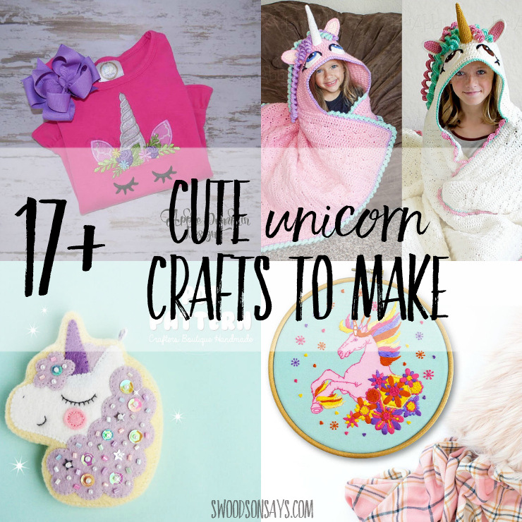 17 Cute Unicorn Crafts To Make
