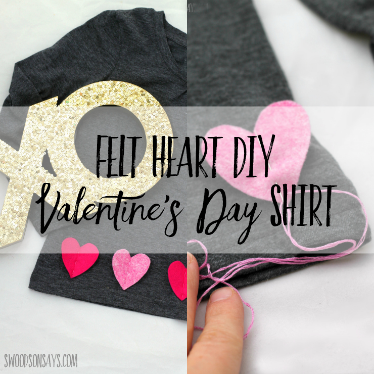Tutorial: 15-minute 3D heart Valentine's Day shirt