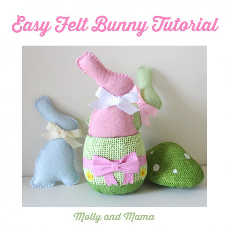 free bunny pattern template