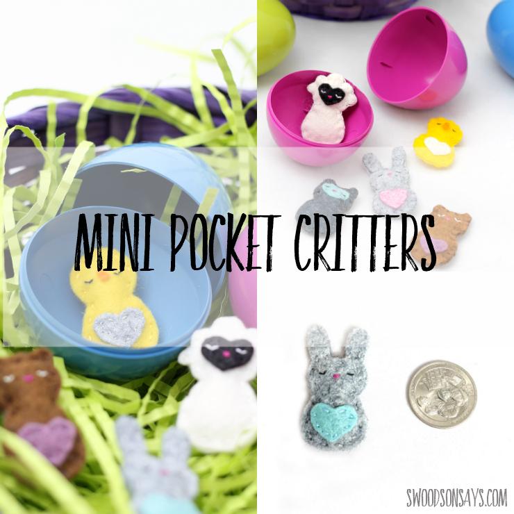 Mini Pocket Critters - New Pattern Release