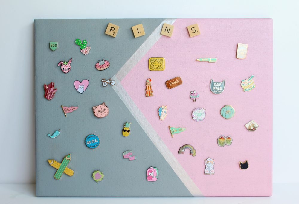 9+ DIY Enamel Pin Displays - Swoodson Says