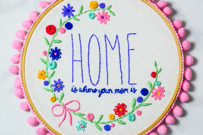 11 Embroidery Ideas For Mothers Day Swoodson Says