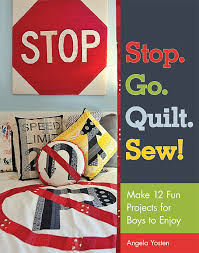 Book of truck patterns to sew for boys