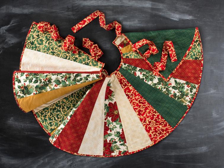 Christmas Tree Skirt Patterns To Sew.28 Christmas Tree Skirts To Make Swoodson Says
