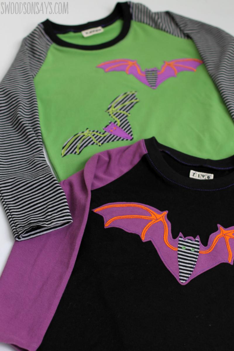 halloween bat applique free pattern