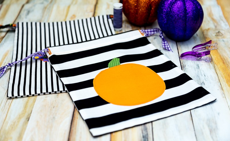how to sew a treat bag