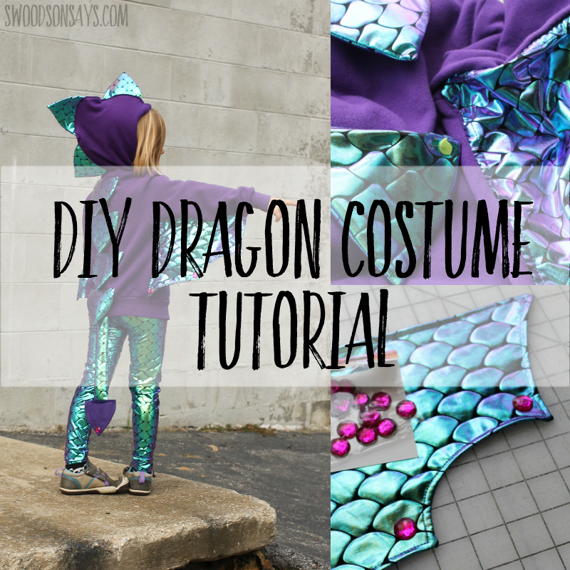 Geek girls guild: making dragon wings (for a dog).