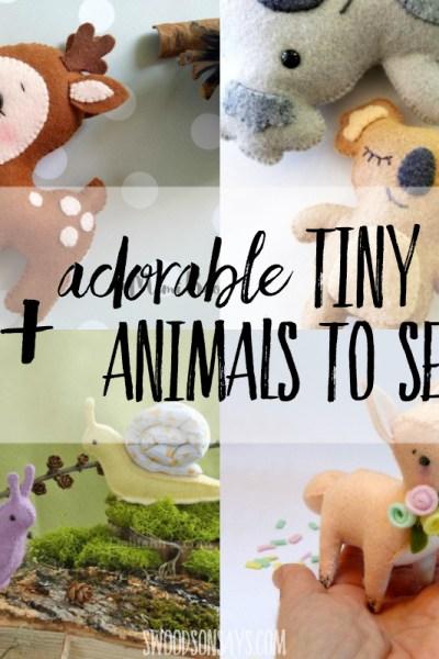 Felt animals patterns