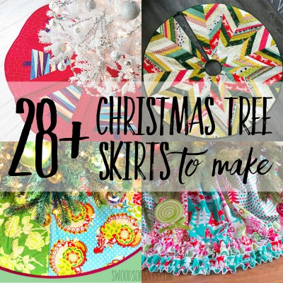 28 Christmas tree skirts to make