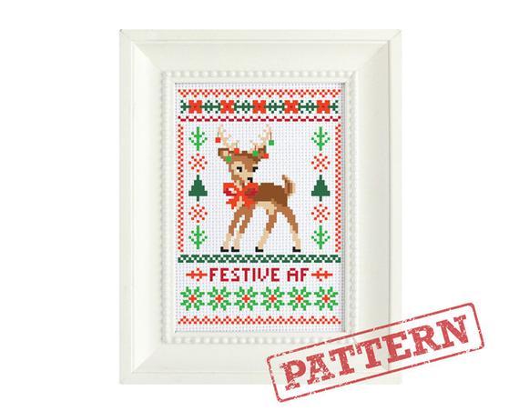 25 christmas cross stitch