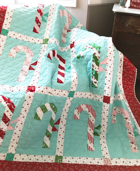 candy cane quilt