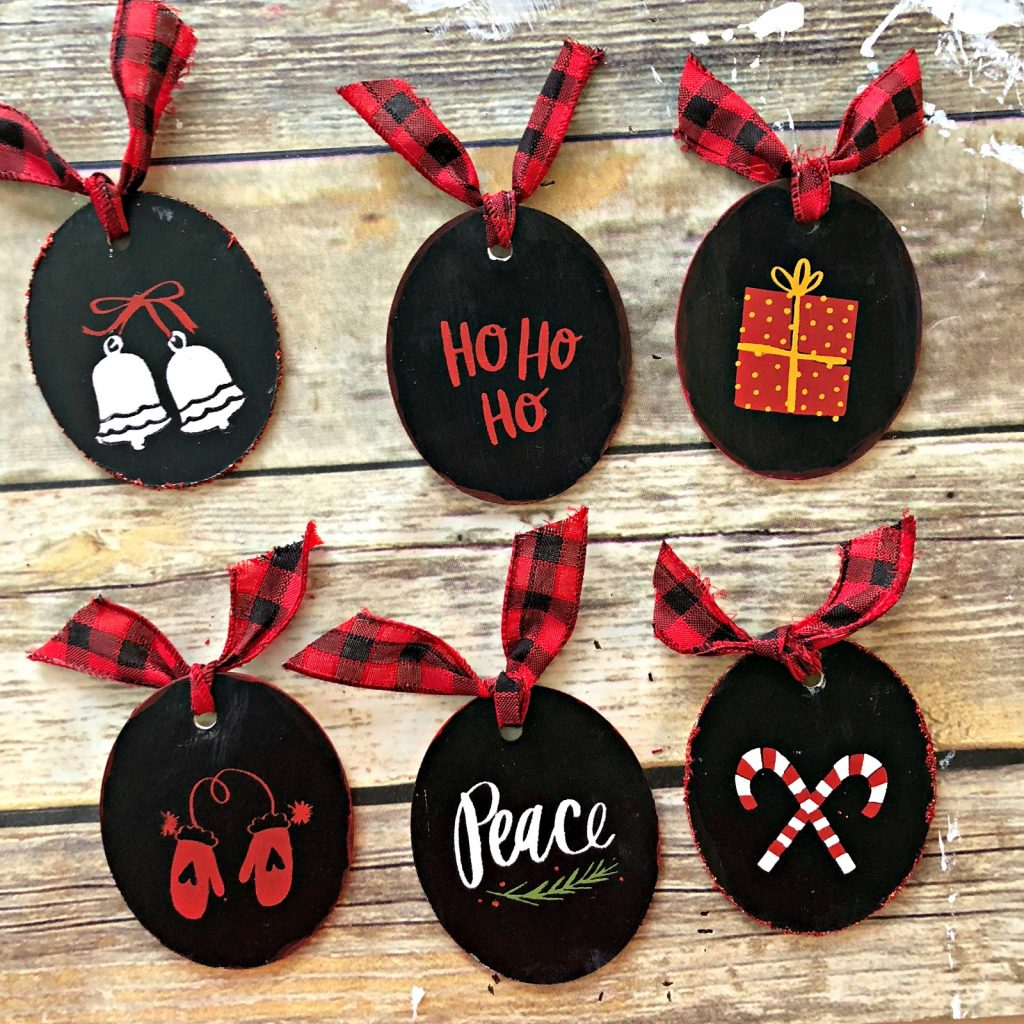 25 Cricut Christmas Ornaments To Diy Swoodson Says