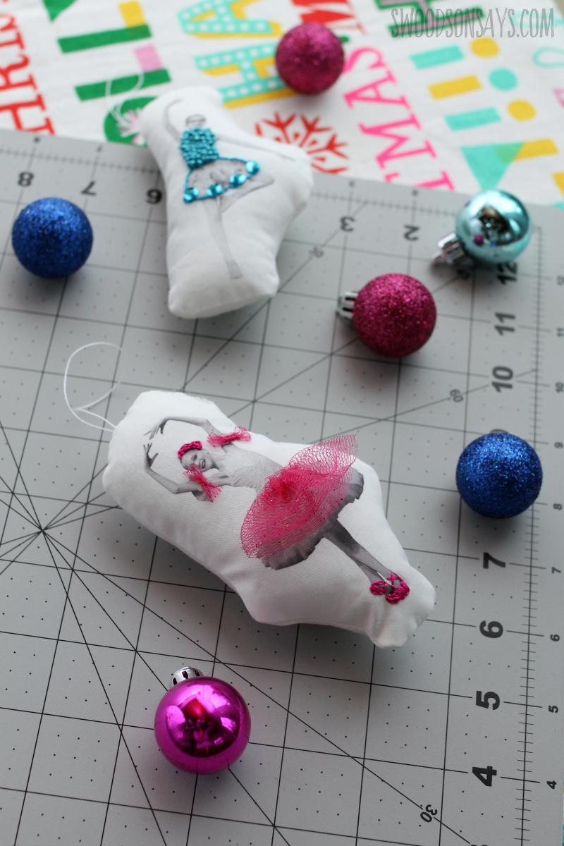 diy ballerina ornament tutorial