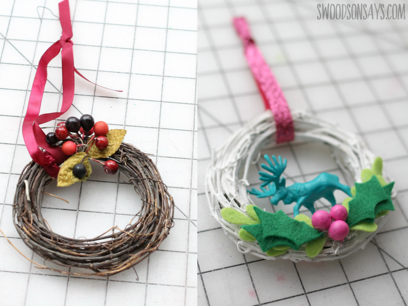 ornament makeover before and after