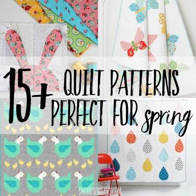 spring quilt patterns