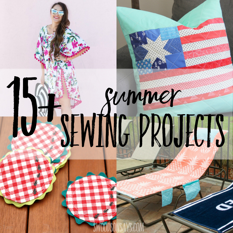 15+ fun summer sewing projects