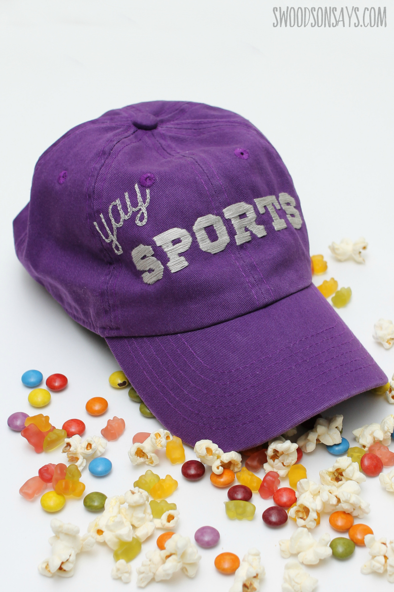 craft project for people who dont like sports