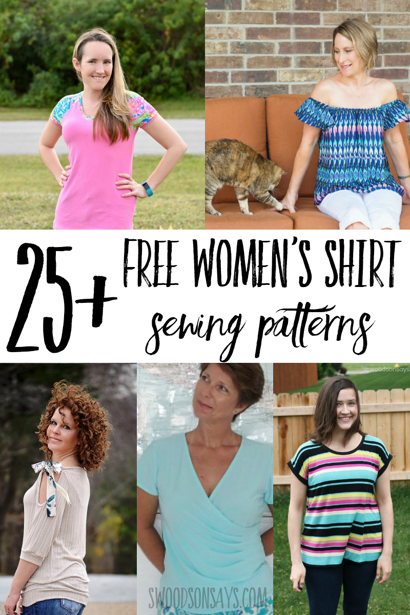 free womens top sewing patterns