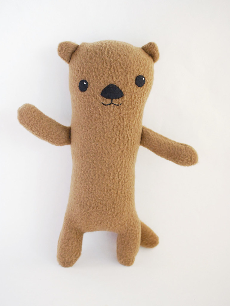 ermine stuffed animal pattern