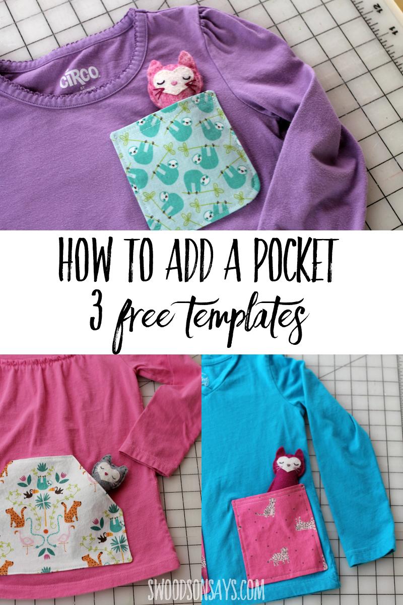 free pocket pattern sewing