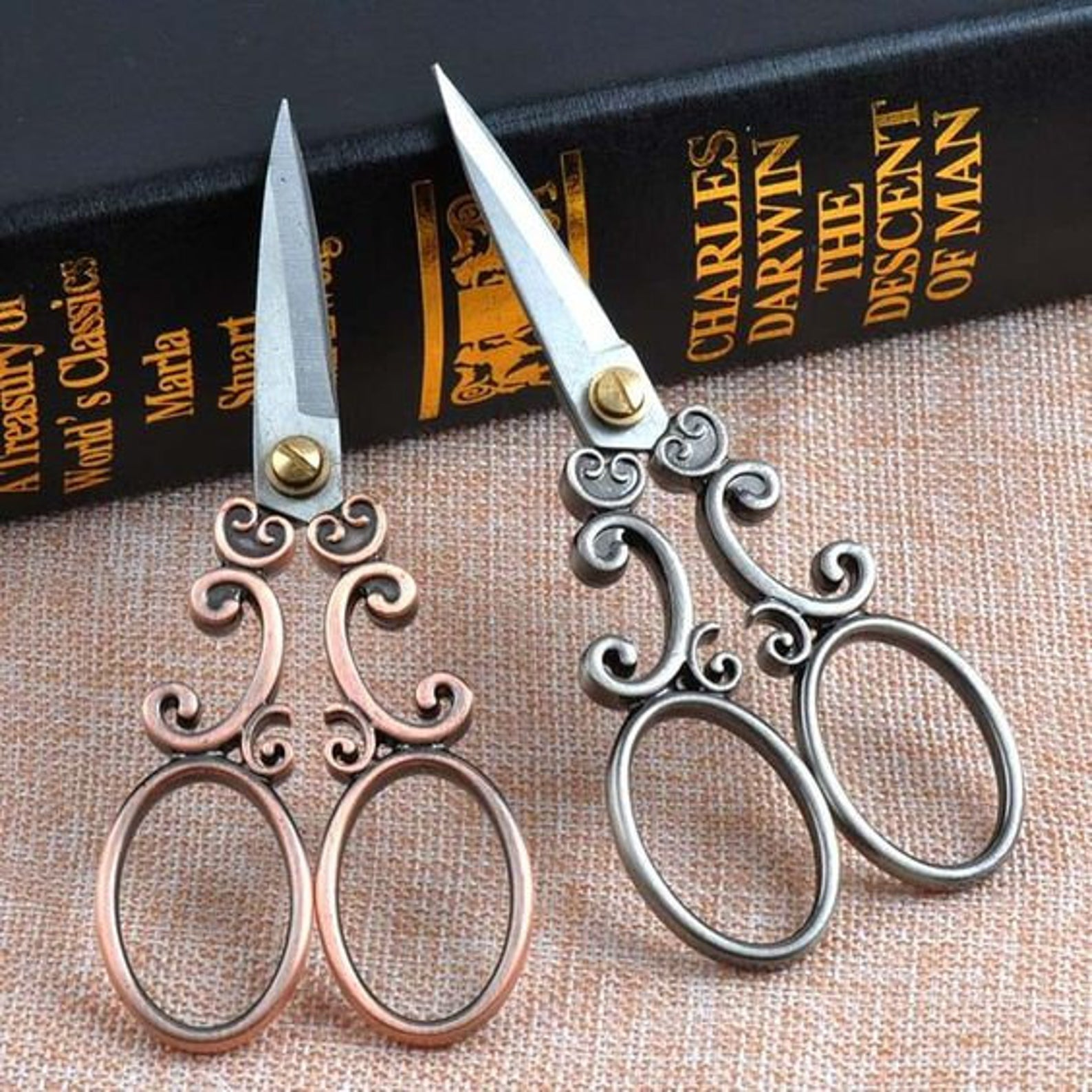 filigree fancy embroidery scissors