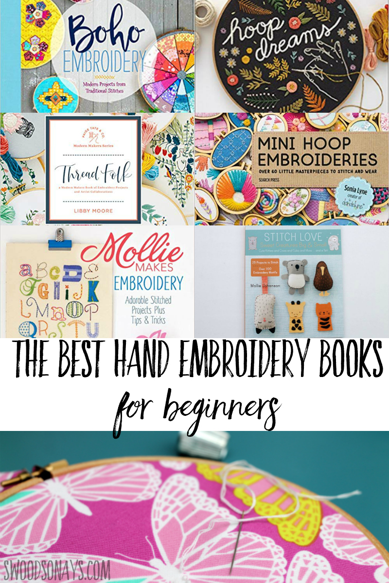 modern hand embroidery books