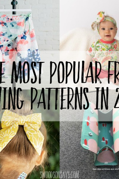 Most popular free patterns from 2019