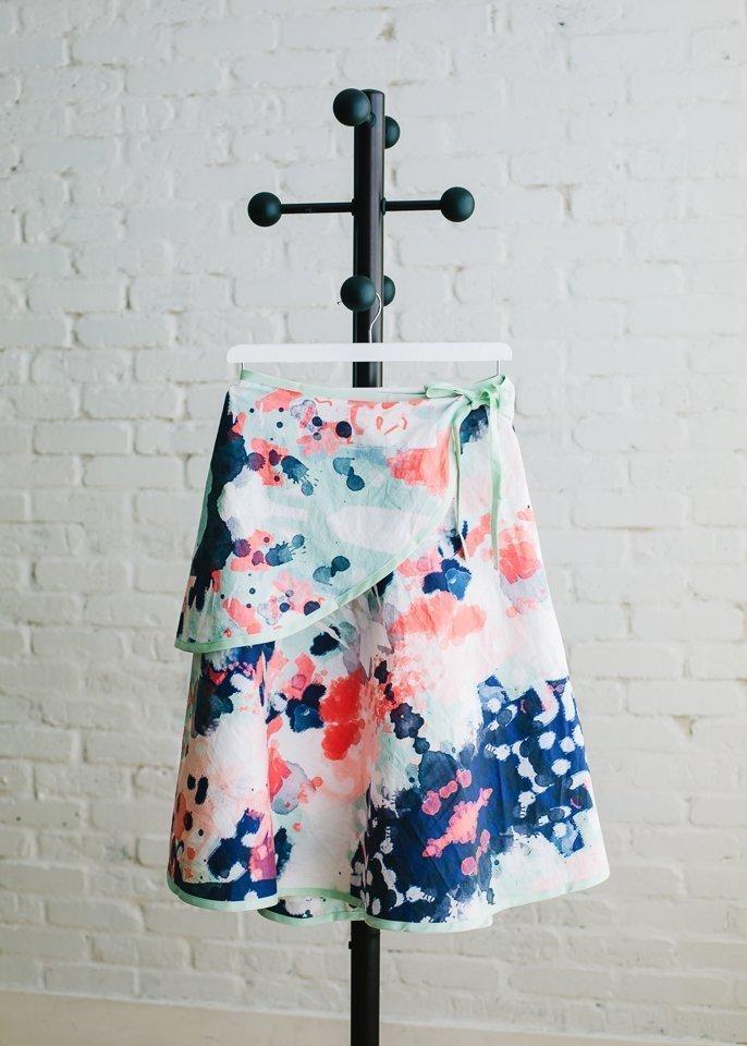 womens wrap skirt free