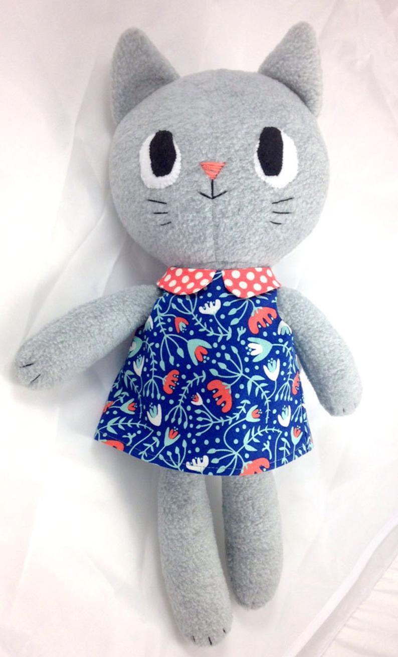 stuffed cat dolly pattern