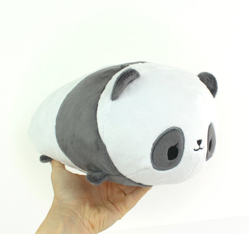 panda stuffed animal pattern
