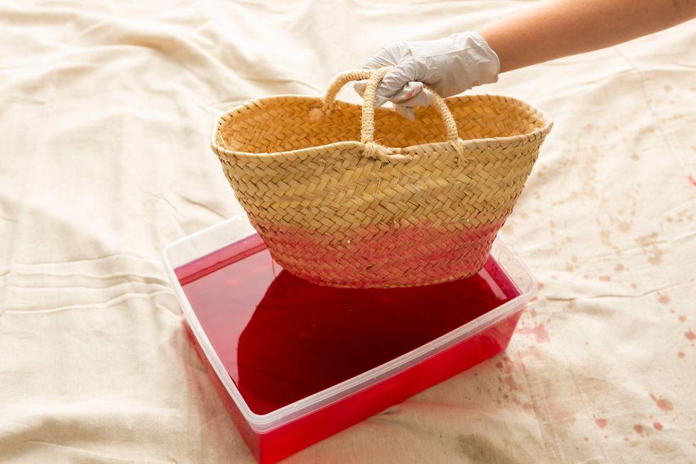 dip dye purse tutorial