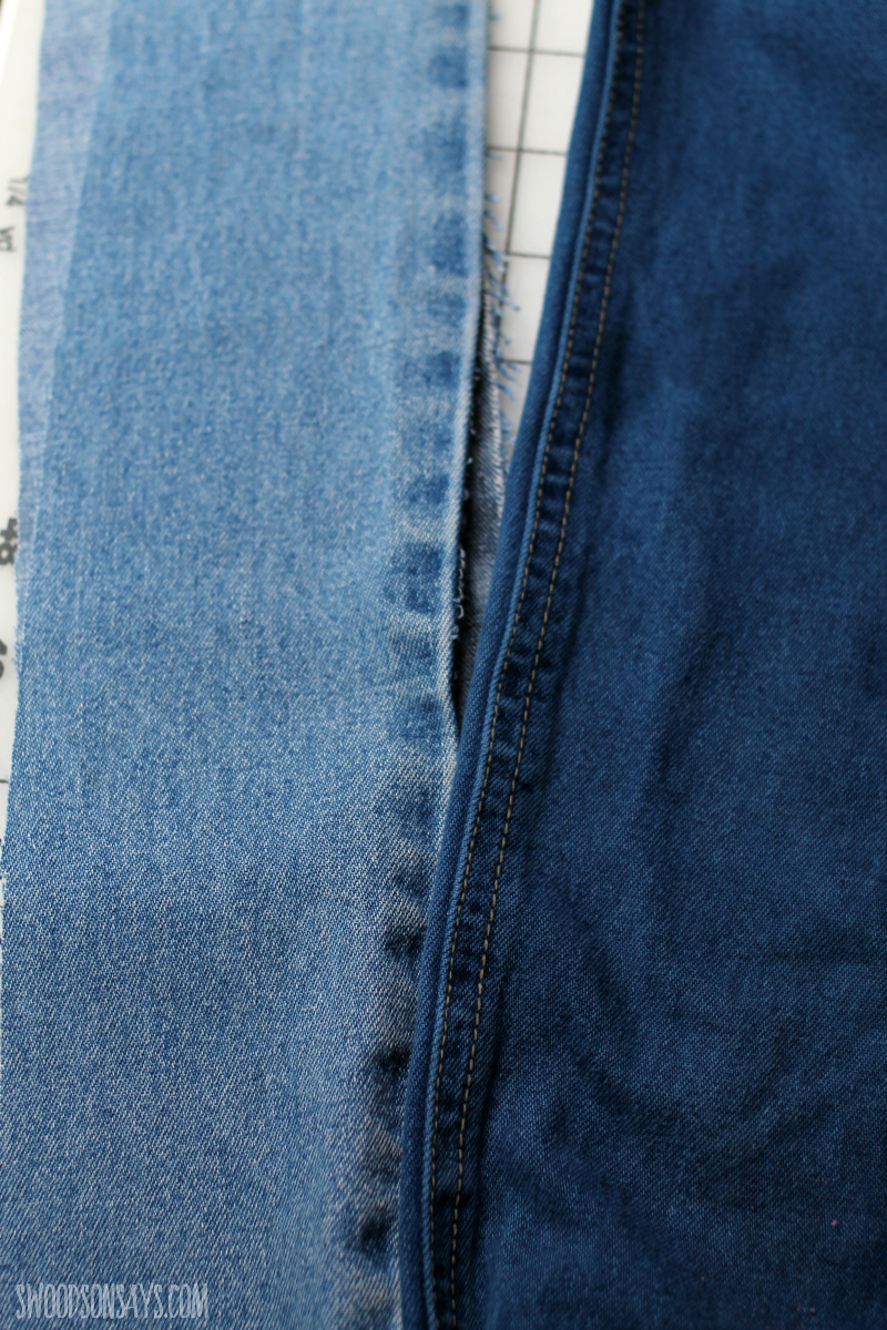 indigo dye jeans diy before and after