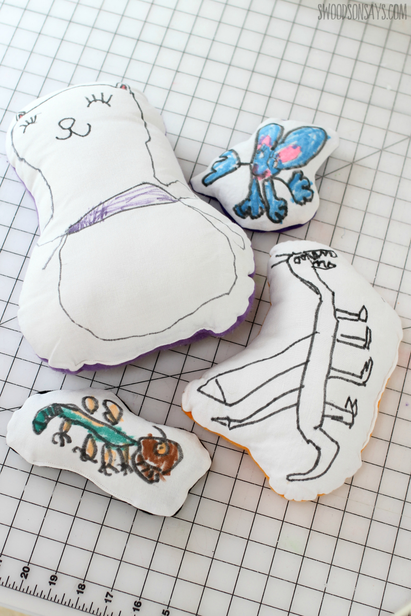 Easy Hand Sewing Projects for Kids to Do in Summertime - DIY Plush Toy