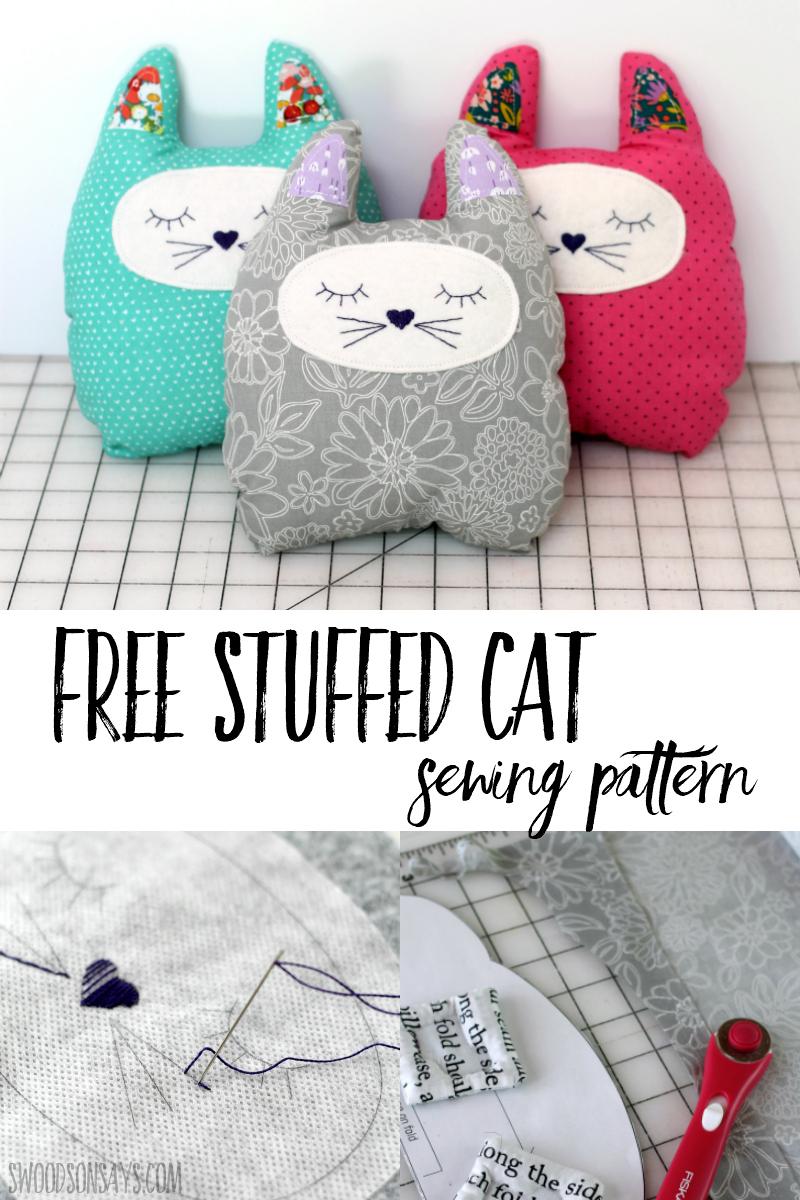 free stuffed animal sewing pattern