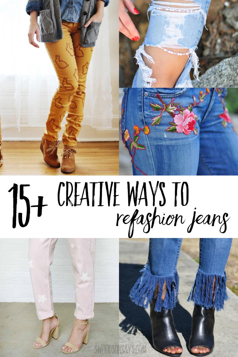creative jeans refashion ideas