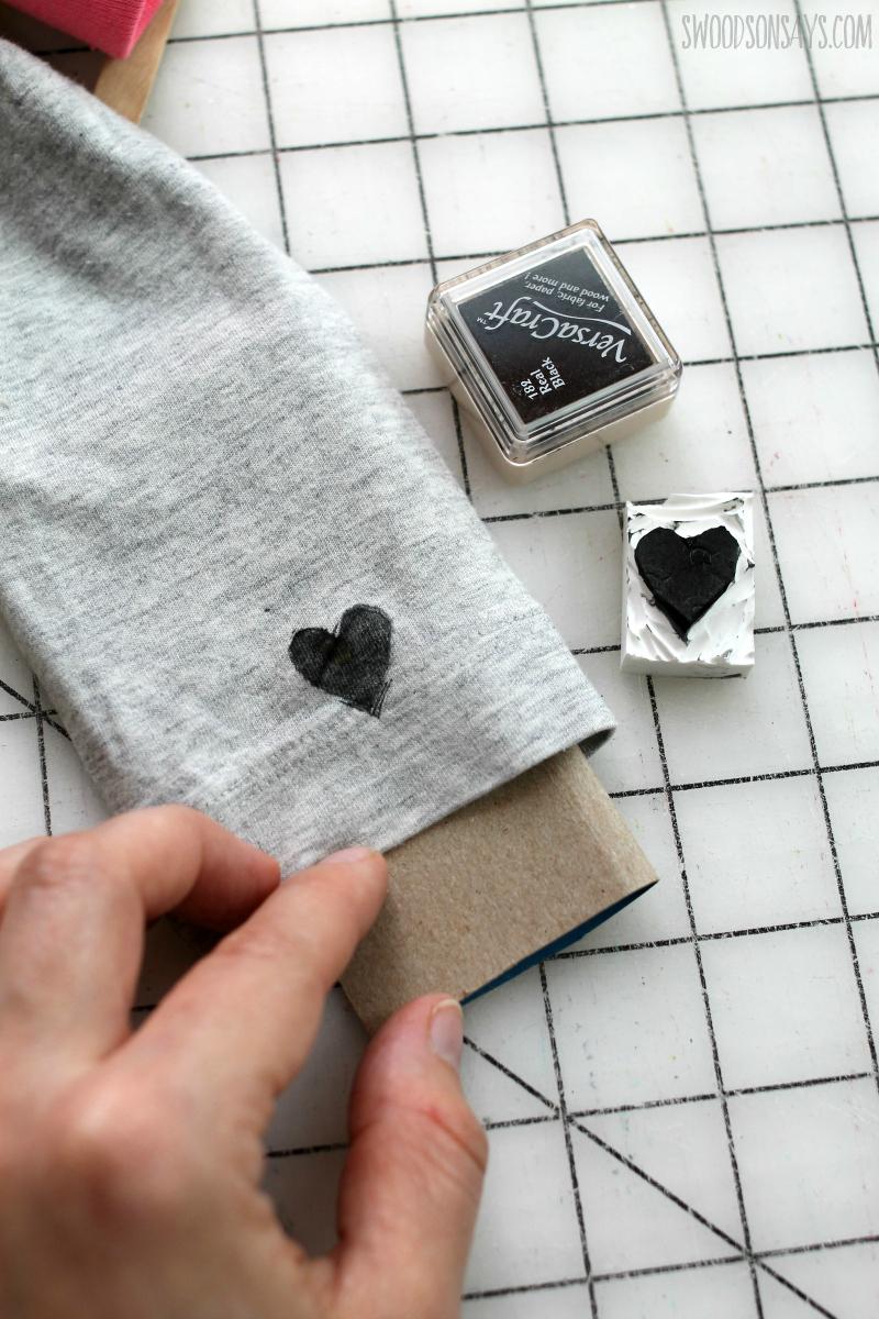 hand carved stamp tutorial