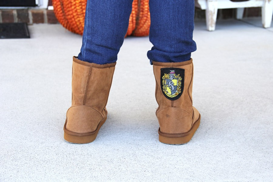 patch boot refashion