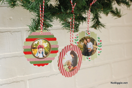 diy washi tape ornaments