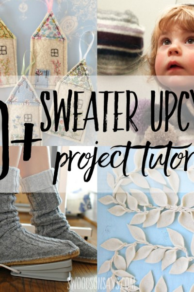 sweater upcycle ideas