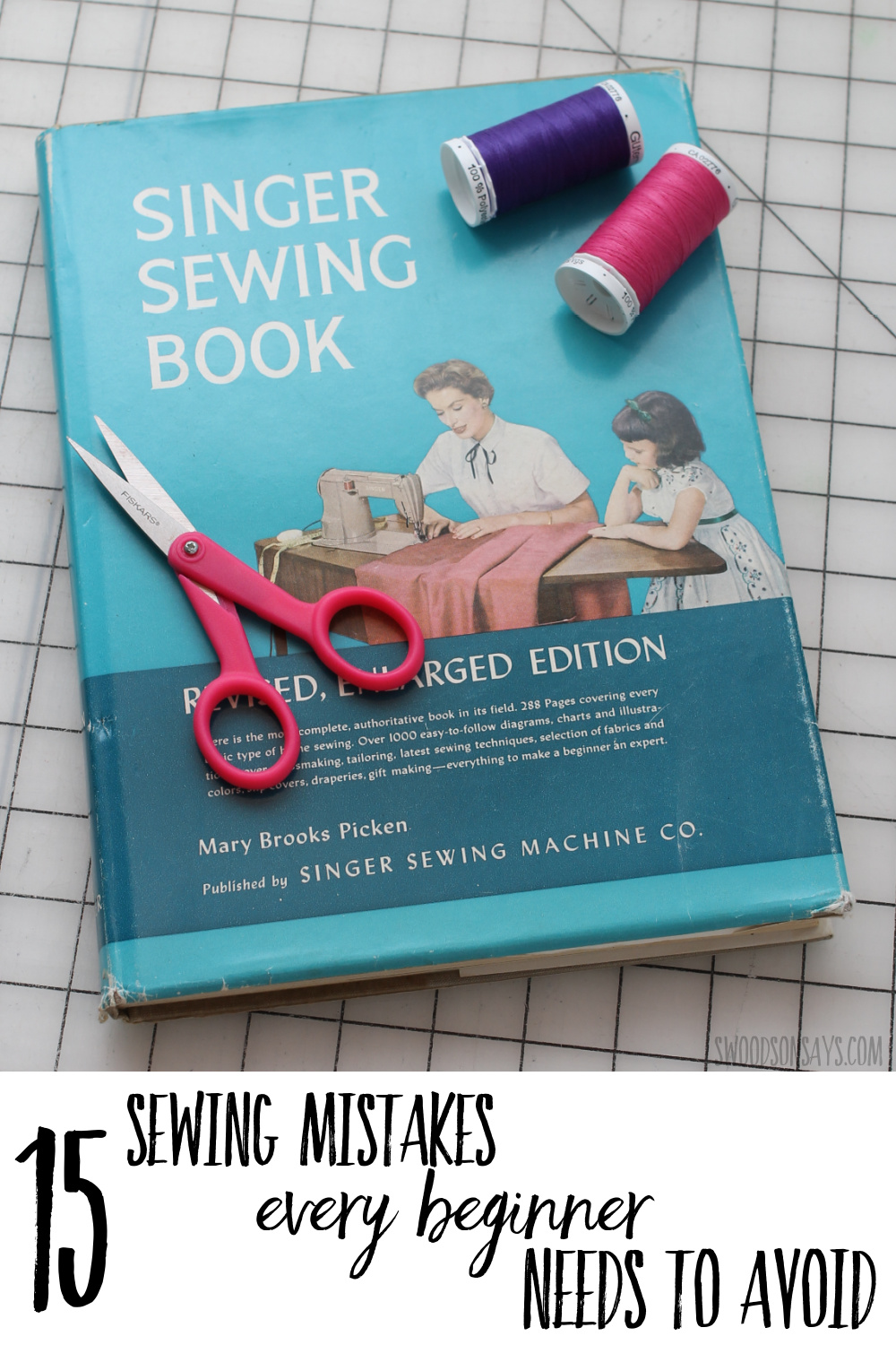 beginner sewing mistakes to avoid