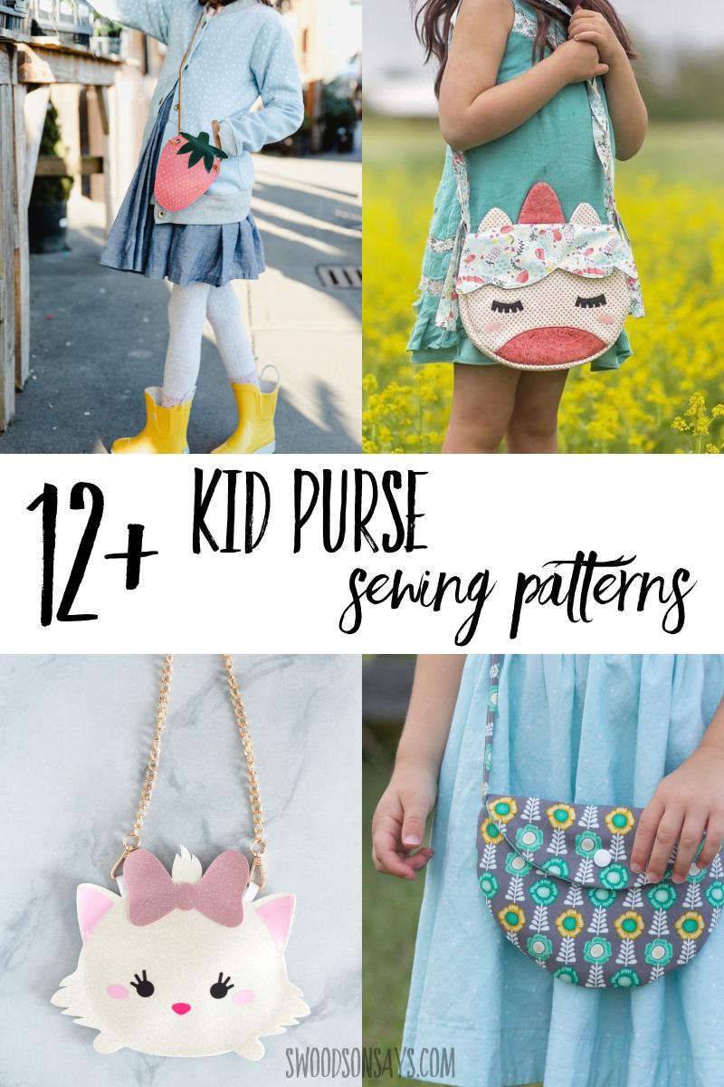 girl purse sewing patterns