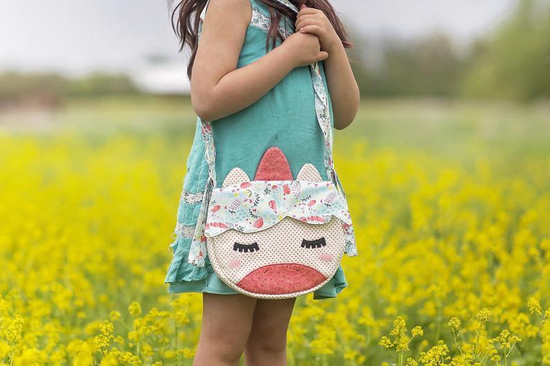 unicorn purse sewing pattern