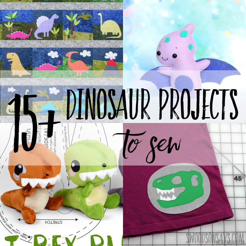 15+ dinosaur sewing pattern ideas
