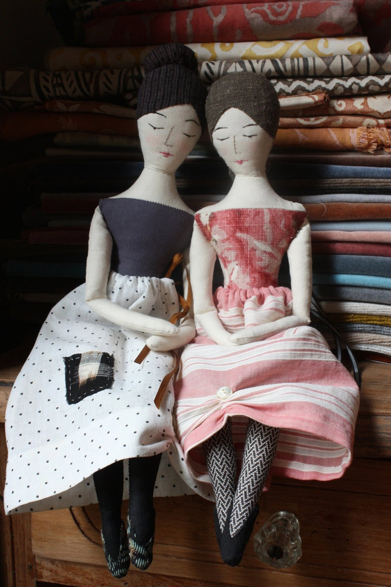classic doll sewing pattern