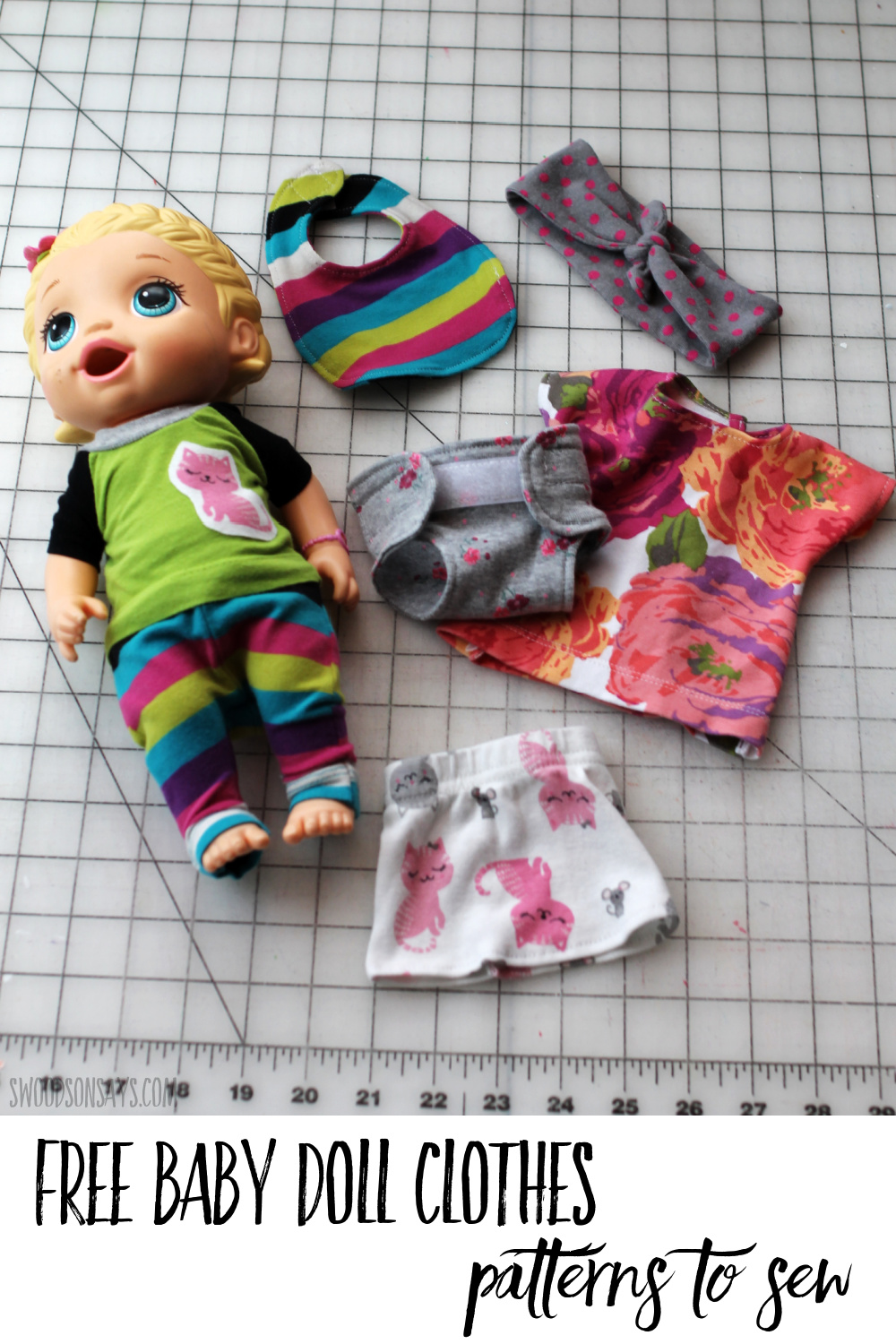 free baby doll clothes sewing patterns