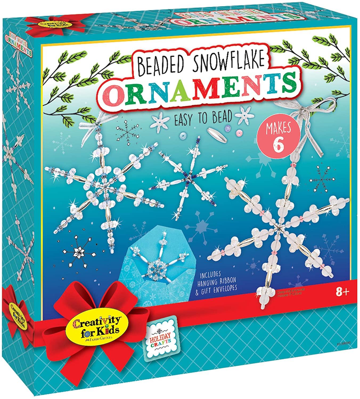 beaded snowflake ornament kit