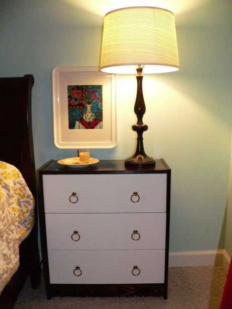 My First IKEA Hack Rast Sidetable Makeover Swoonobsessed