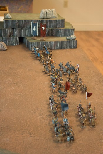 The North Gautrian Army awaits orders.
