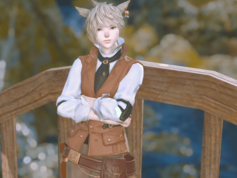 """Officer Main Class: Culinarian Officer Duties: Helpin' with café food, levekits, and gathering quest turn-ins.  Currently running Go Fish on Saturday afternoons! Zodiac Sign: Virgo Favorite Quote: """"All children go on adventures with Pokémon. It's part of growing up.""""  Favorite Thing To Do In-Game: Crafting, RP, glam, and maps"""