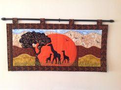 1805 Erica Clegg giraffe table runner